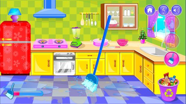 My Dream House Cleanup: Winter screenshot 2