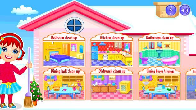 My Dream House Cleanup: Winter screenshot 3