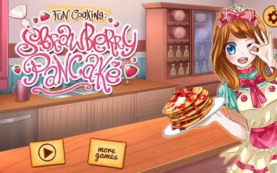 Fun Cooking Strawberry Pancake poster