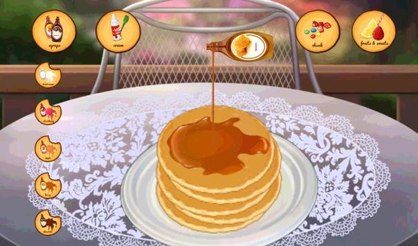 Fun Cooking Strawberry Pancake apk screenshot