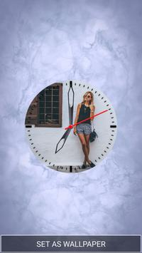 My Photo Analog Clock Live Wallpaper hd poster