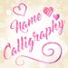 Escribir Nombres en Fotos - Letra de Caligrafía