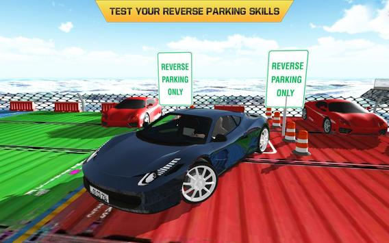 Car Parking Driving Test 2017 poster
