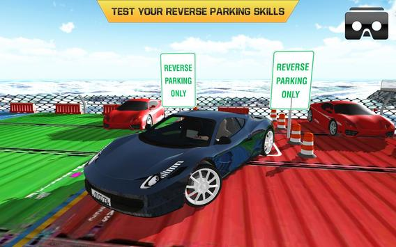Car Parking Driving Test VR poster