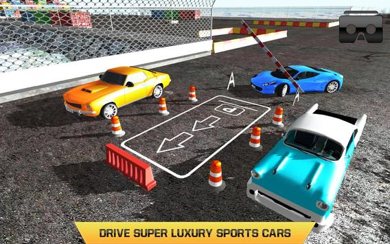 Car Parking Driving Test VR screenshot 3