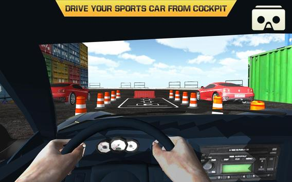 Car Parking Driving Test VR screenshot 4