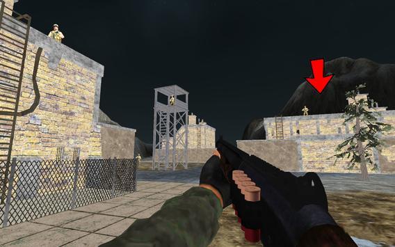 Mountain Sniper Commando War screenshot 12