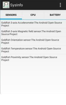System Info screenshot 2