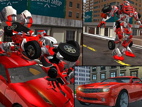 Car Robot Transport Truck screenshot 7