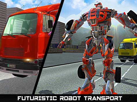 Car Robot Transport Truck screenshot 8