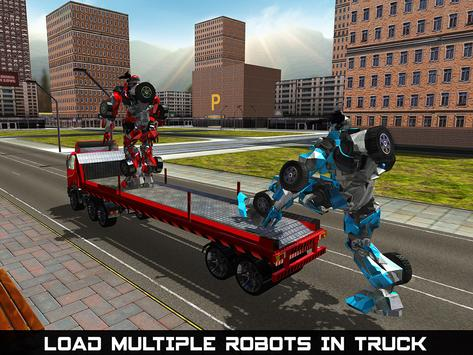 Car Robot Transport Truck apk screenshot