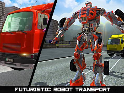 Car Robot Transport Truck screenshot 13