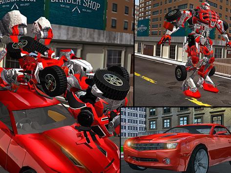 Car Robot Transport Truck screenshot 12