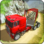 OffRoad Cargo Truck Simulator Uphill Driving Games icon
