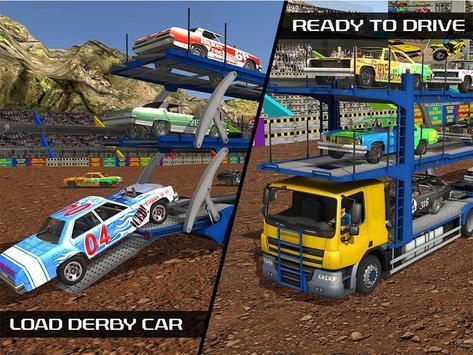 Derby Car Transport Truck Sim apk screenshot