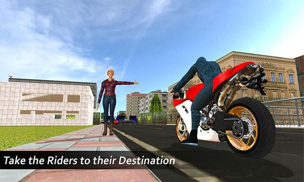 Extreme Rooftop Bike Rider Sim poster