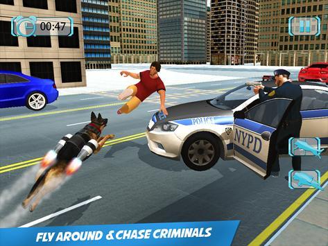 Futuristic Flying Police Dog apk screenshot