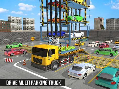 Multi Car Smart Parking Truck apk screenshot