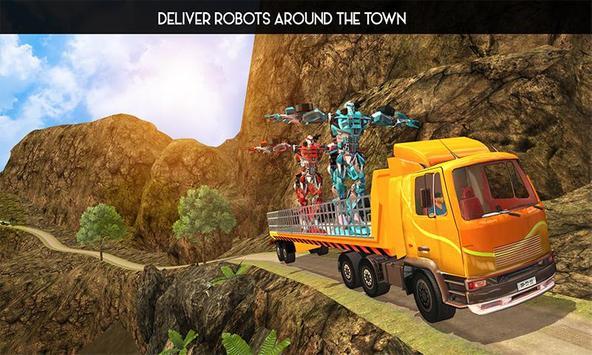 OffRoad Robot Transport Truck poster