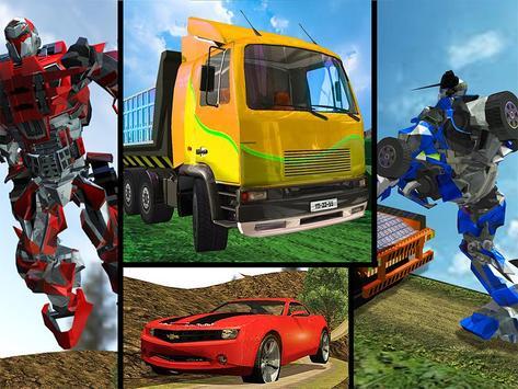 OffRoad Robot Transport Truck apk screenshot