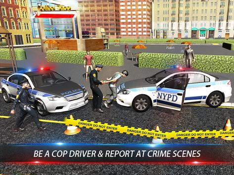 Civil Police Car Driving 2016 apk screenshot