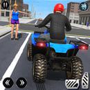 ATV Quad Bike Simulator 2018: Bike Taxi Games APK Android