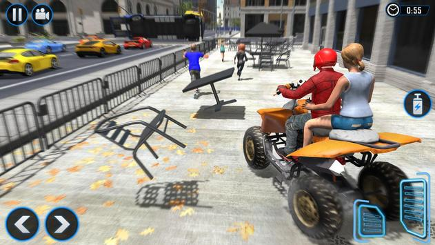 ATV Quad Bike Simulator 2018: Bike Taxi Games screenshot 1