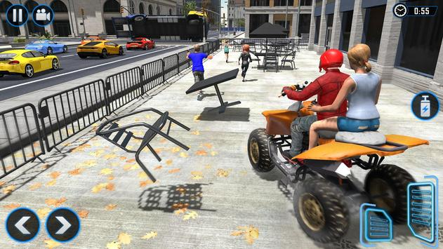 ATV Quad Bike Simulator 2020: Bike Taxi Games screenshot 8