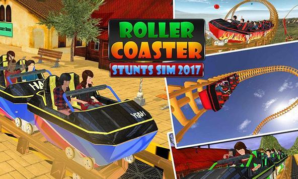 Roller Coaster Stunts Sim 2017 poster