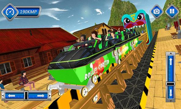 Roller Coaster Stunts Sim 2017 apk screenshot