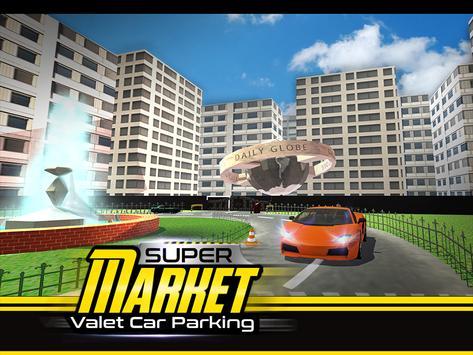 Supermarket Valet Car Parking apk screenshot