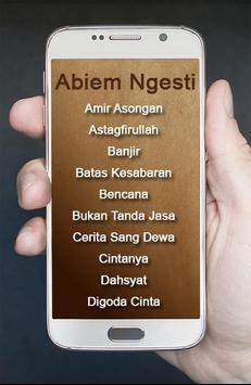 Lagu Abiem Ngesti Pangeran Dangdut poster