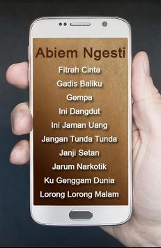 Lagu Abiem Ngesti Pangeran Dangdut apk screenshot