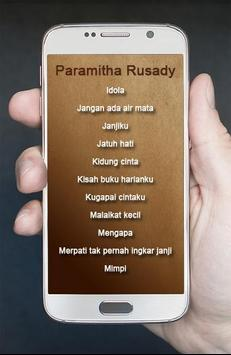 Lagu Paramitha Rusady Pop Kenangan apk screenshot