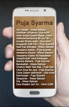Lagu Assalamualaika Religi Puja Syarma apk screenshot