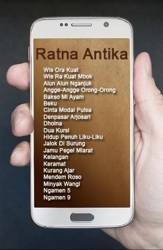 Ratna antika-monata terbaru 2016 full album sigle. Mp3 by njenot.