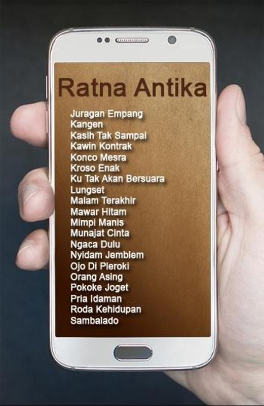Lagu ratna antika dangdut koplo mp3 for android apk download.