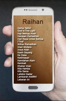 Album Raihan Lagu Religi apk screenshot