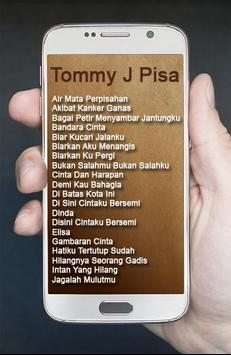 Album Tommy J Pisa Lagu Kenangan poster