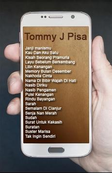 Album Tommy J Pisa Lagu Kenangan apk screenshot