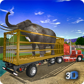 Offroad Animal Truck Transport Driving Simulator icon