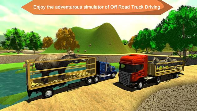 Offroad Animal Truck Transport Driving Simulator apk screenshot
