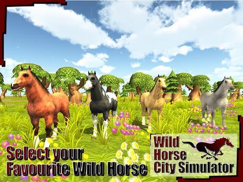 Wild Horse City Rampage 3D screenshot 10