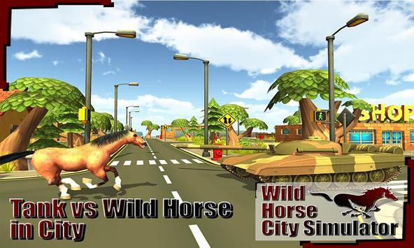 Wild Horse City Rampage 3D screenshot 1