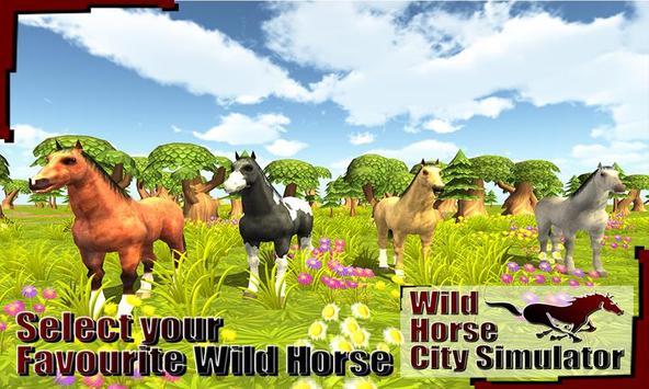 Wild Horse City Rampage 3D screenshot 2