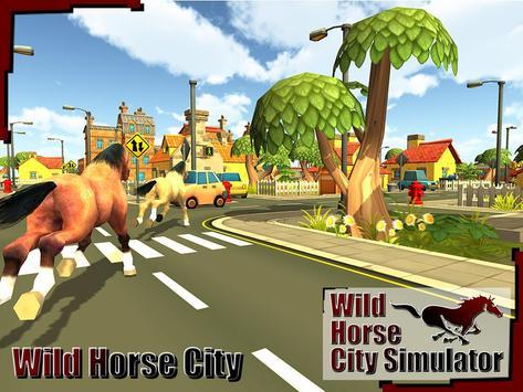 Wild Horse City Rampage 3D screenshot 4