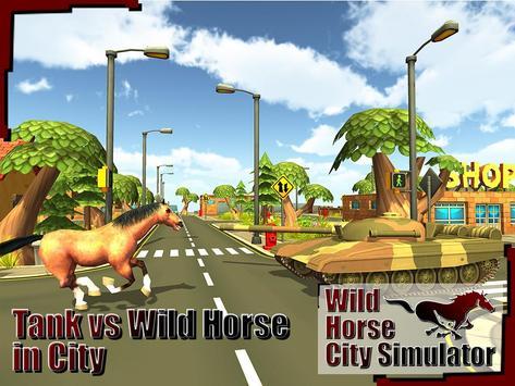 Wild Horse City Rampage 3D screenshot 5