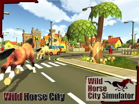 Wild Horse City Rampage 3D screenshot 8