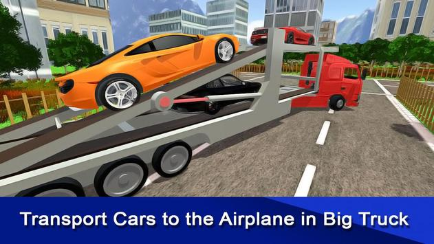 Car Cargo Transporter Airplane apk screenshot