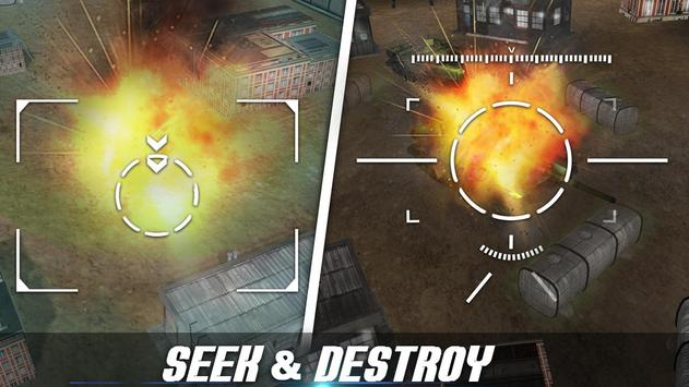 Modern Drone Air Strike Battle! Gunship Combat 3D screenshot 12